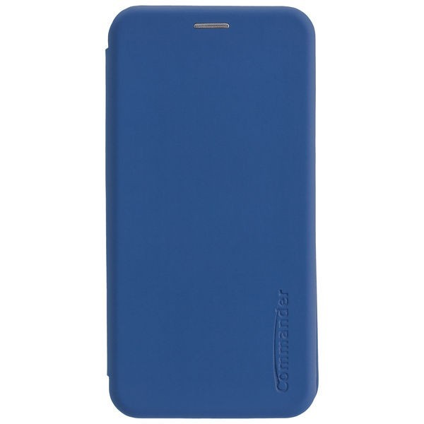 Commander Book Case Curve für Samsung Galaxy S20 Plus - Soft Touch Maritim Blue