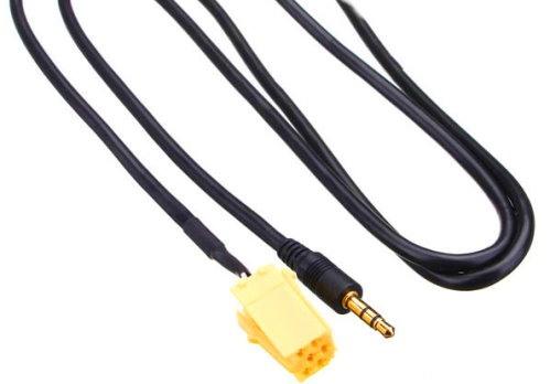 Musik Adapter Kabel AUX  für FIAT Grande Punto für iPhone 5 6 6S