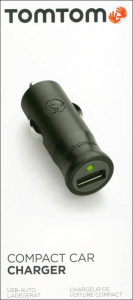 TomTom USB-Autoladegerät mit Micro u. Mini-USB-Kabel