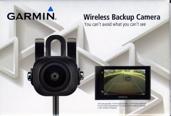 drahtlose Rückfahrkamera f. Garmin DriveLuxe 50LMT-D