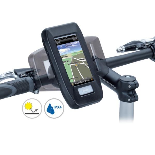 Fahrradhalterung Spritzschutzbox f. Huawei Ascend G300