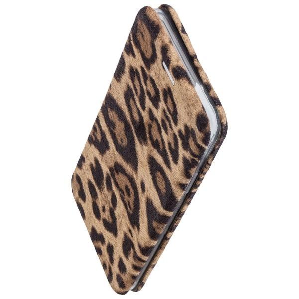 Commander Book Case Curve für Samsung Galaxy A51 - Leopard