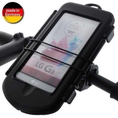 Fahrrad  Motorrad Spritzschutzbox L + schraub Halterung Lenkstange f. Geräte bis 160x87x13,7mm