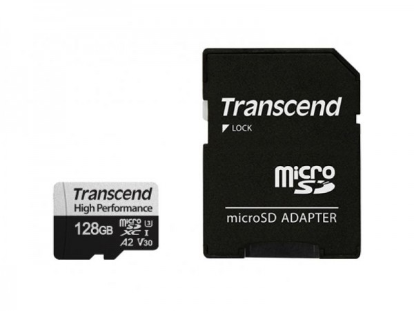 Transcend 128GB Speicherkarte  UHS class 3 f.  iTracker_mini0906